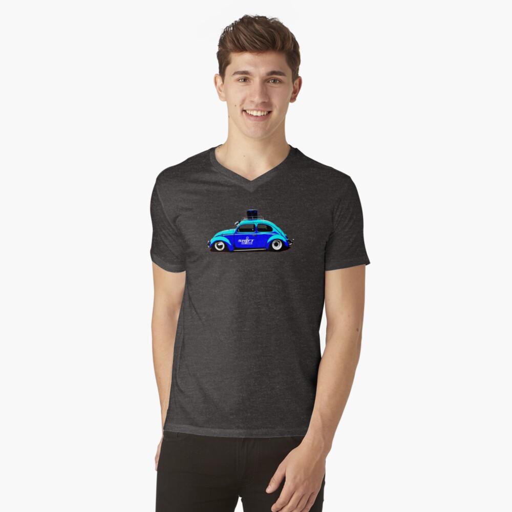 Shift Shirts Buggin Out Men's V-Neck T-Shirt Front