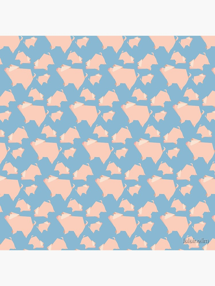 Paper Pigs (Patterns Please) by lalainelim