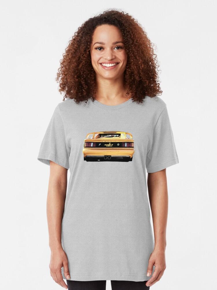 Alternate view of Shift Shirts Drink V8 Slim Fit T-Shirt