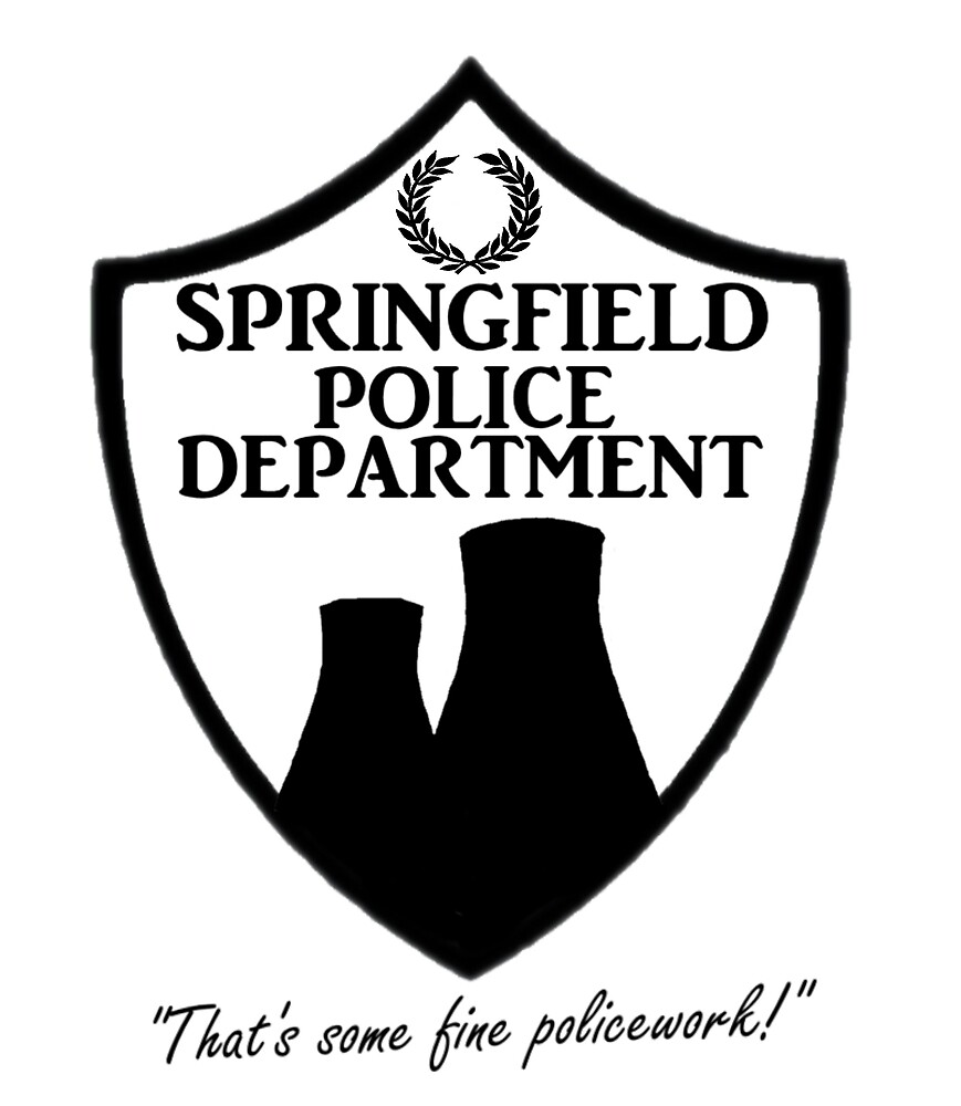 Springfield PD by SuperbFlewUs