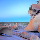 The Moon's surface or Remarkable Rocks in HDR by Elana Bailey