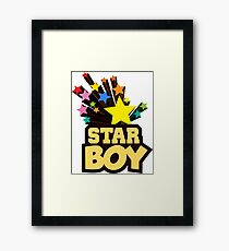 star boy Framed Print