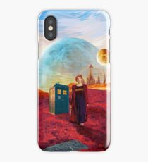 13th Doctor at gallifrey planet iPhone Case