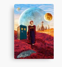 13th Doctor at gallifrey planet Canvas Print