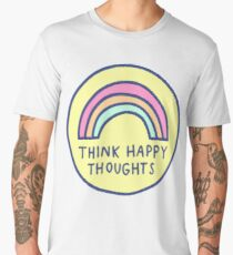 Think Happy Thoughts Men's Premium T-Shirt