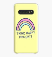 Think Happy Thoughts Case/Skin for Samsung Galaxy