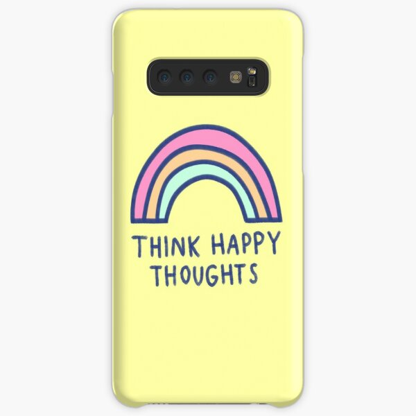 Think Happy Thoughts Samsung Galaxy Snap Case