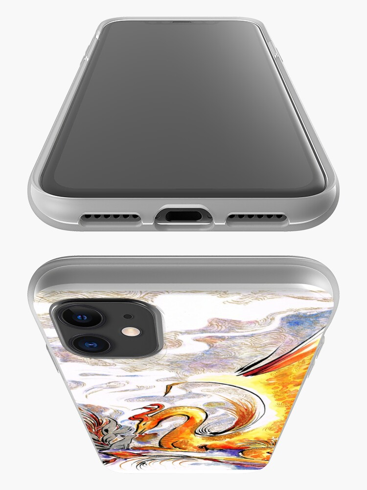 Alternate view of When Dragons Speak iPhone Case & Cover