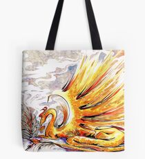 When Dragons Speak Tote Bag