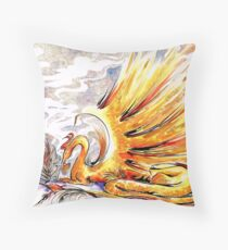 When Dragons Speak Throw Pillow