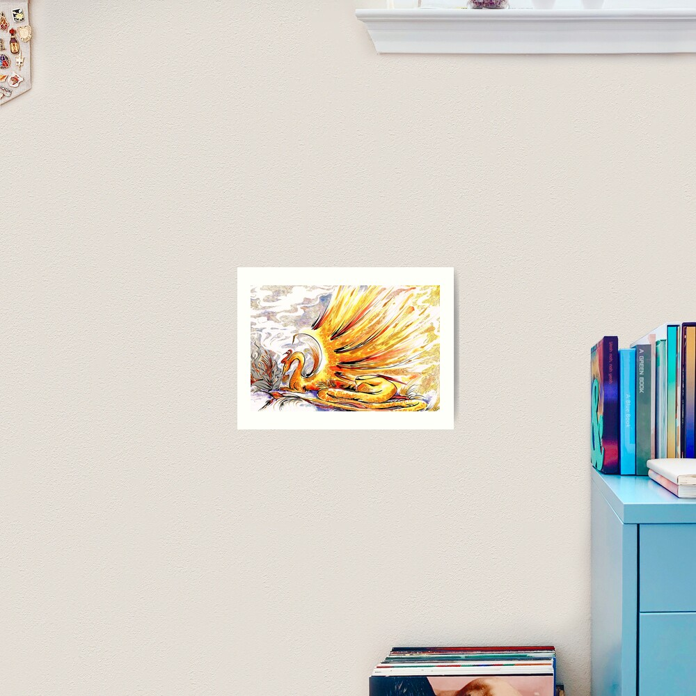 When Dragons Speak Art Print