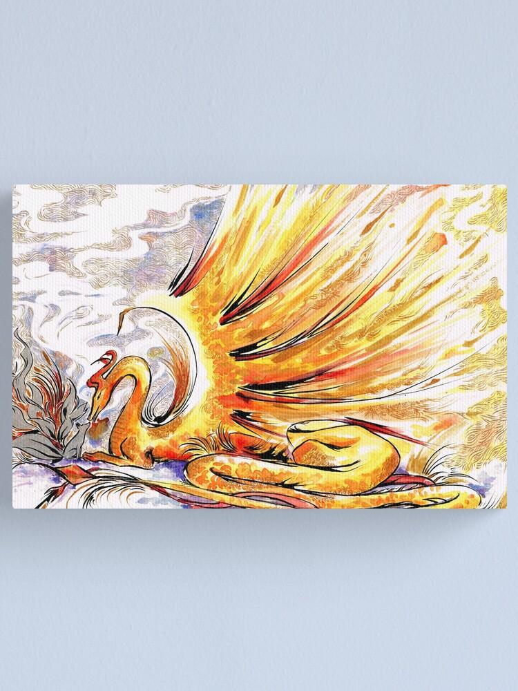 Alternate view of When Dragons Speak Canvas Print
