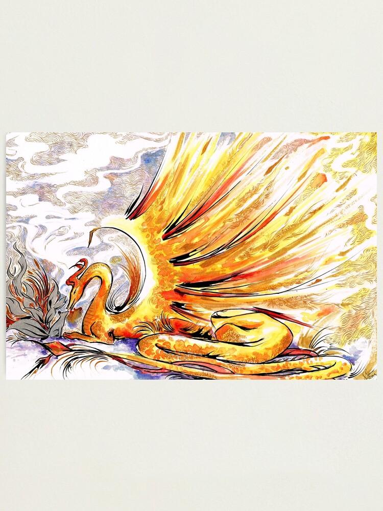 Alternate view of When Dragons Speak Photographic Print
