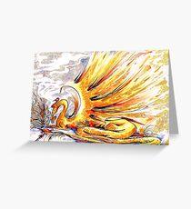 When Dragons Speak Greeting Card