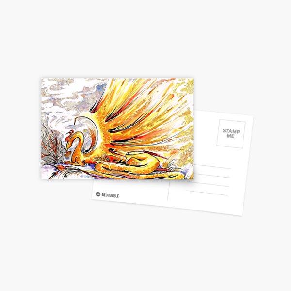 When Dragons Speak Postcard