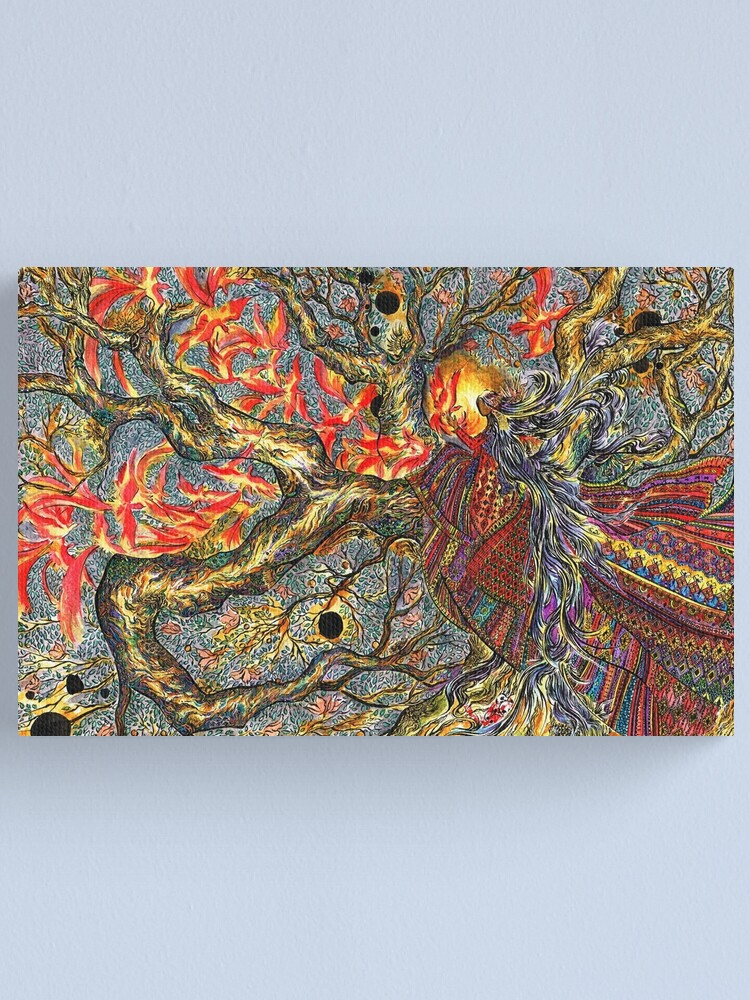 Alternate view of Aswang, at Night Canvas Print