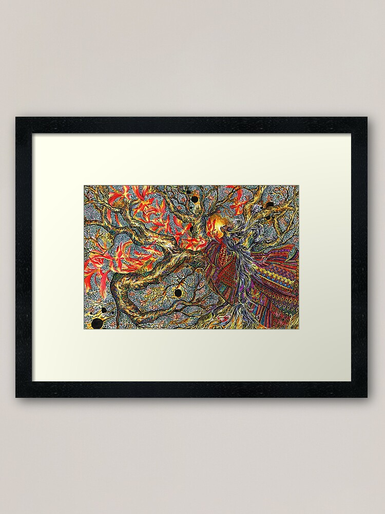 Alternate view of Aswang, at Night Framed Art Print