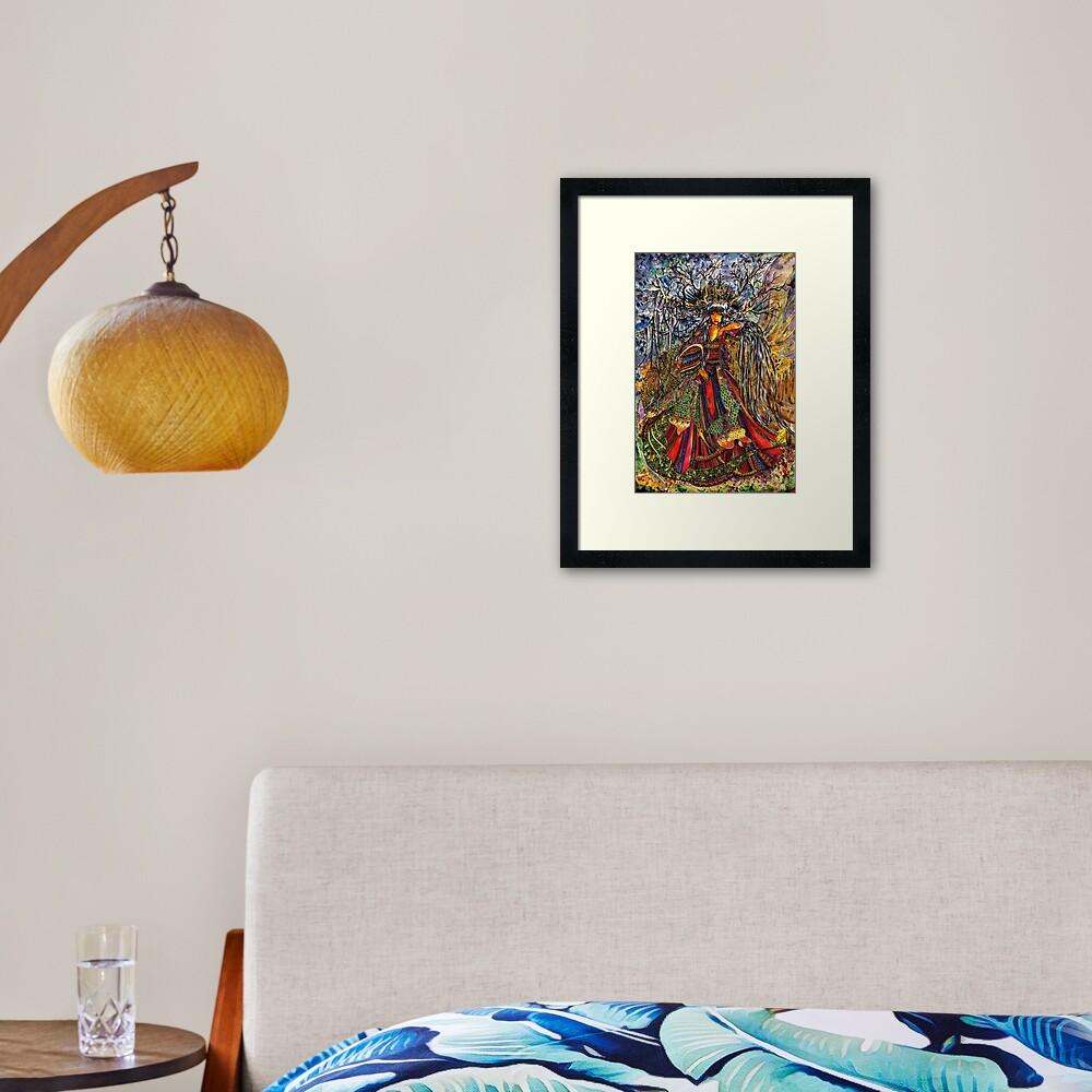 Prinsesa Framed Art Print