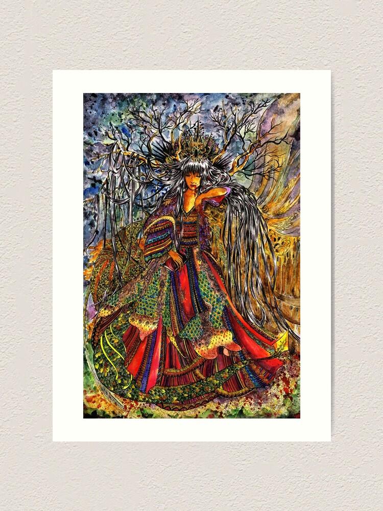 Alternate view of Prinsesa Art Print
