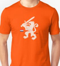 Dutch Lion (orange) Unisex T-Shirt