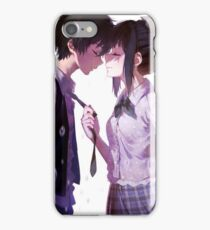 Anime Couple iPhone Case/Skin