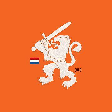 Dutch Lion (orange) by 73553
