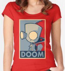 DOOOOOM - Gir Women's Fitted Scoop T-Shirt