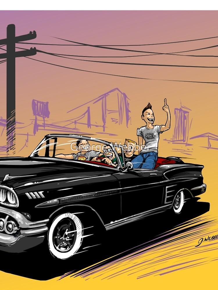 Joy Ride by gWebberArts