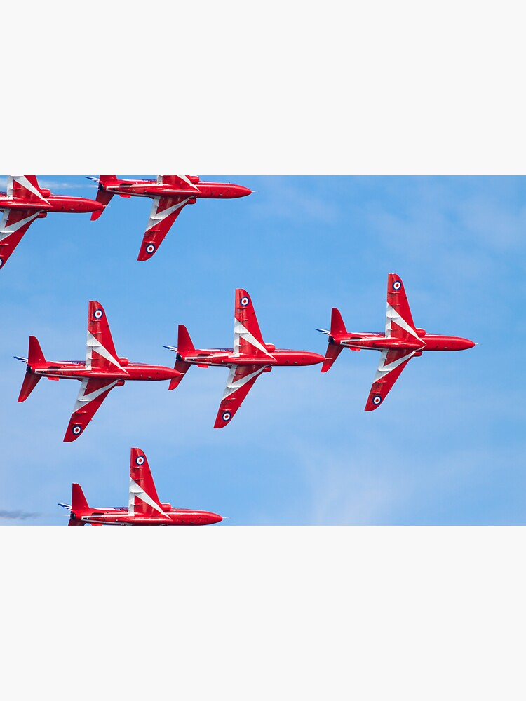 RAF Red Arrows Aerobatic Display Team by robcole