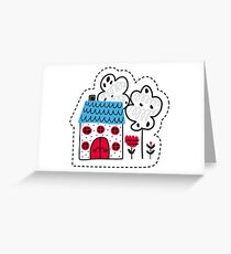 doll house Greeting Card