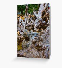 Beach sculpture Greeting Card