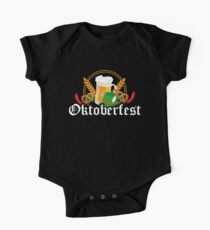 Oktoberfest Beer Festival Germany One Piece - Short Sleeve