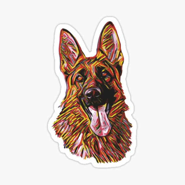 PROTECTED BY SHILOH SHEPHERD SECURITY AGENCY STICKER