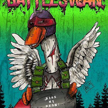 BattleSwan! by bigsmellydog