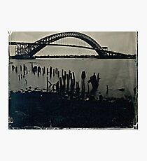 Bayonne Bridge, NJ. Tintype Photograph Photographic Print