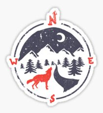 Call of the North... Sticker
