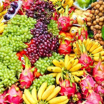 Fabulous fresh fruit by missmoneypenny
