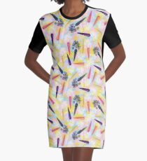 Carrots Are Tops Graphic T-Shirt Dress