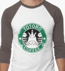 Totorocoffee Men's Baseball ¾ T-Shirt