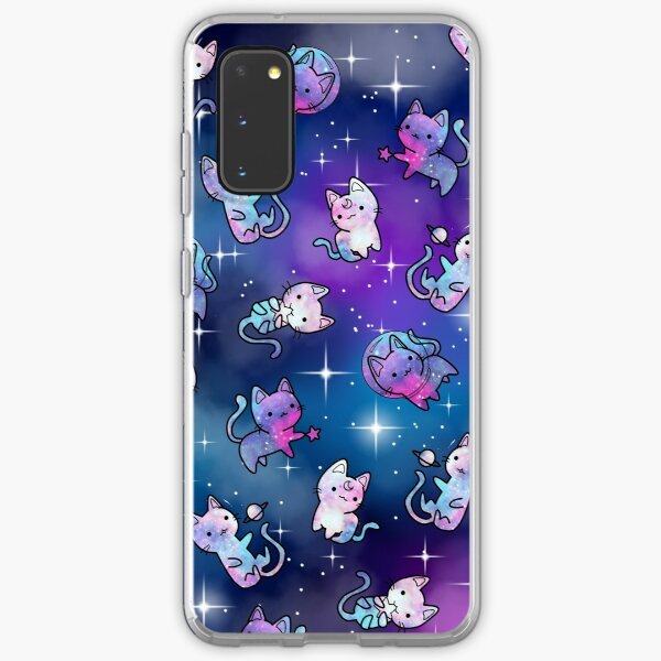 Space Kitties Samsung Galaxy Soft Case
