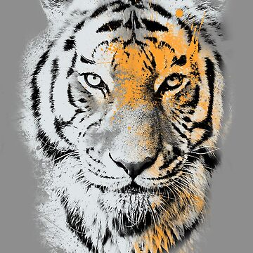 Splatter tiger by Pescapin