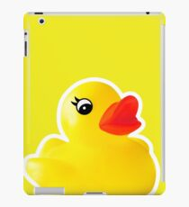 Rubber Ducky [Print | iPhone / iPad / iPod Case & Tshirt] iPad Case/Skin