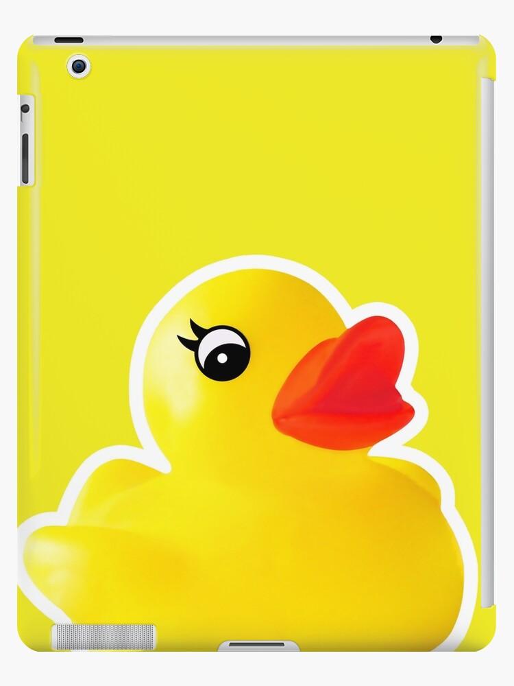 Rubber Ducky [Print | iPhone / iPad / iPod Case & Tshirt] by Didi Bingham