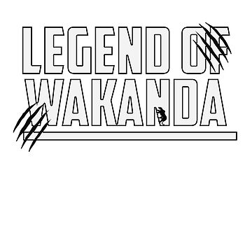 Legend of Wakanda by Cookied9