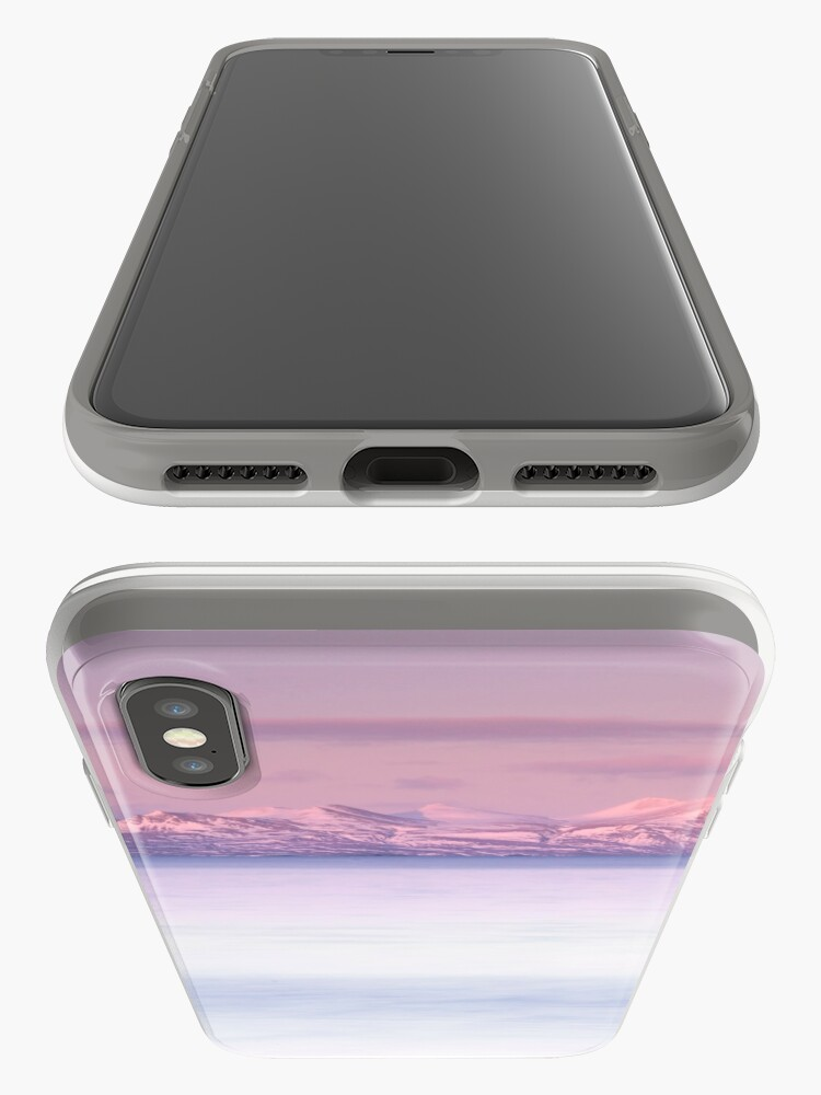 Alternate view of dusky pink iPhone Case & Cover