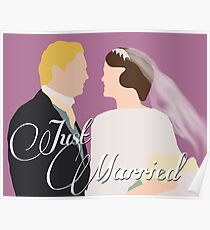 "DA: Mary e Matthew ""Just Married"" Poster"