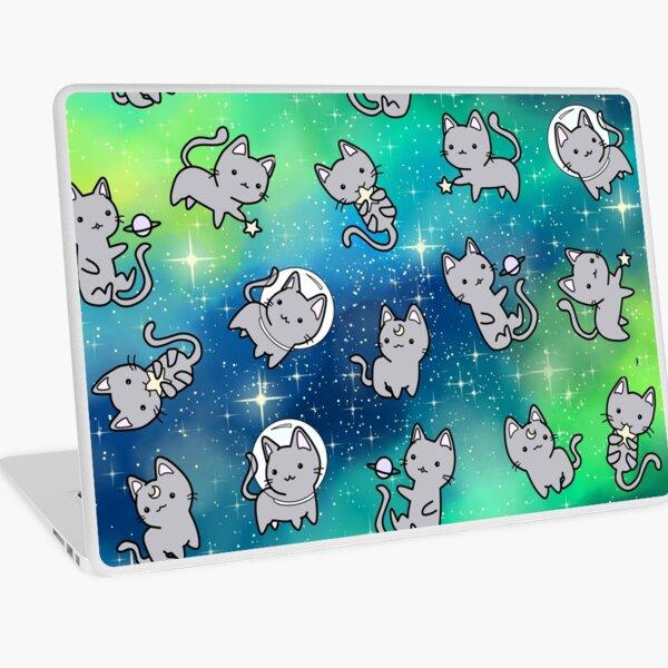 Galaxy Cats Laptop Skin