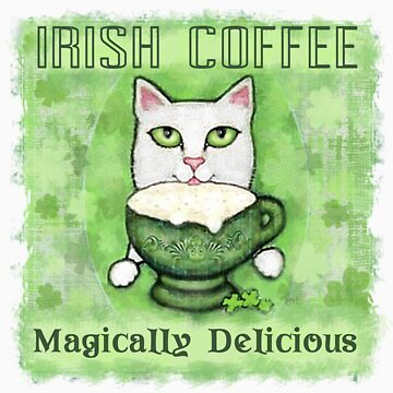Irish Coffee Cat by Jamiecreates1