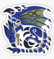 Azure Rathalos Sticker