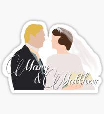 DA: Mary e Matthew Sticker